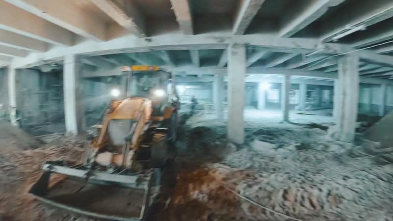 Ремонт Большого Каменного моста с обзором 360 градусов