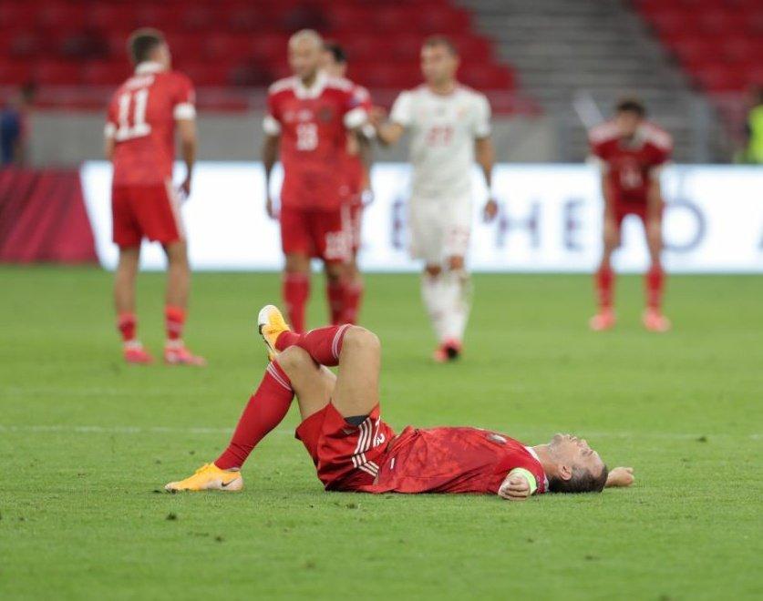 Сборная Венгрии - сборная России, 2:3. Лига наций. Артем Дзюба