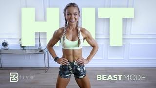 День 5: ВИИТ - Высокоинтенсивная тренировка всего тела. BEASTMODE HIIT - High Intensity Full Body Workout | Day 5