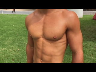 18 Yr old Aussie Teen Mens Physique Jake Arnold Classic Styrke Studio (1)