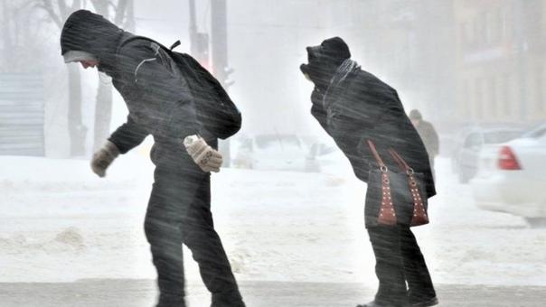 В Югре ожидается сильный ветер и гололедные явлени...