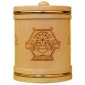 Мед «Туес деревянный с обручами» 1,0 кг