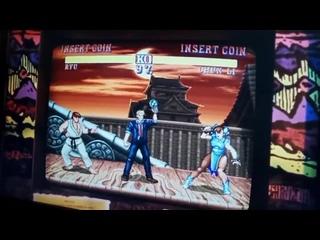 Слитый трейлер скинов Chun-Li и Ryu!