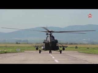 Два вертолета Ми-8АМТШ переданы авиаполку в Краснодарском крае