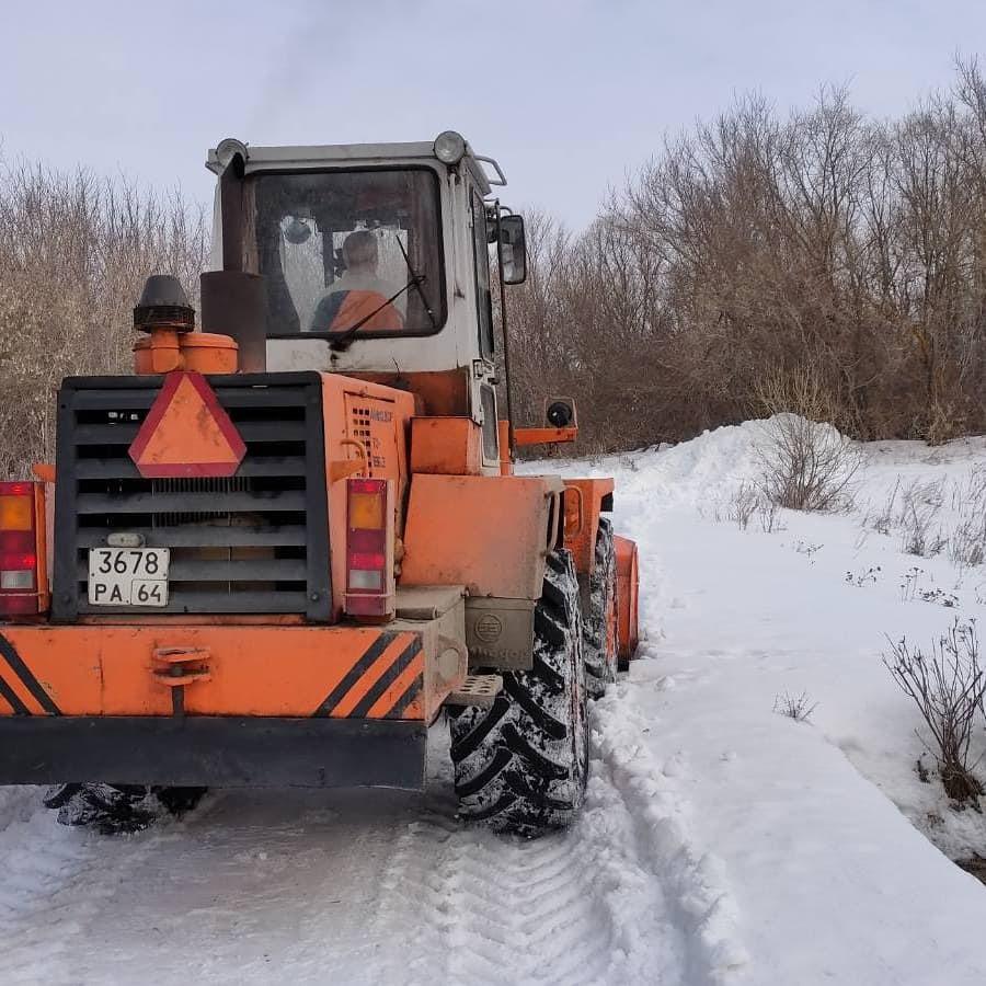 В Петровске продолжается подготовка к паводку и активному таянию снега