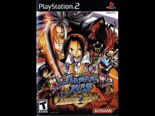 моё личное прохождение игры на эмуляторе PlayStation 2 шаман кинг Shaman King часть1