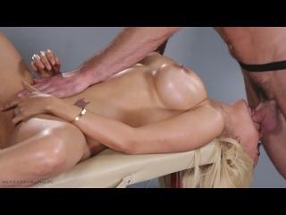 Luna Star [1080p, Porn, MILF, Sex, Massage, Oiled, Big ass, Big boobs, Blonde, Hard, Blowjob, Deepthroat] - Nuru Massage