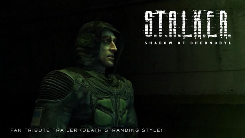 S.T.A.L.K.E.R. Shadow of Chernobyl — Tribute Fan Trailer (Death Stranding Style)