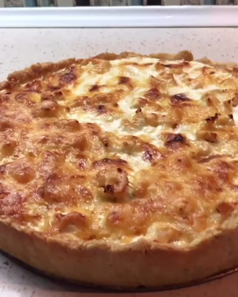 Лоранский пирог с курицей и грибами 🔥🔥🔥 (https://vk.com/public186004641)