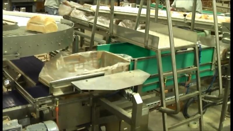 Автоматизированная обработка тары на хлебопекарном производстве