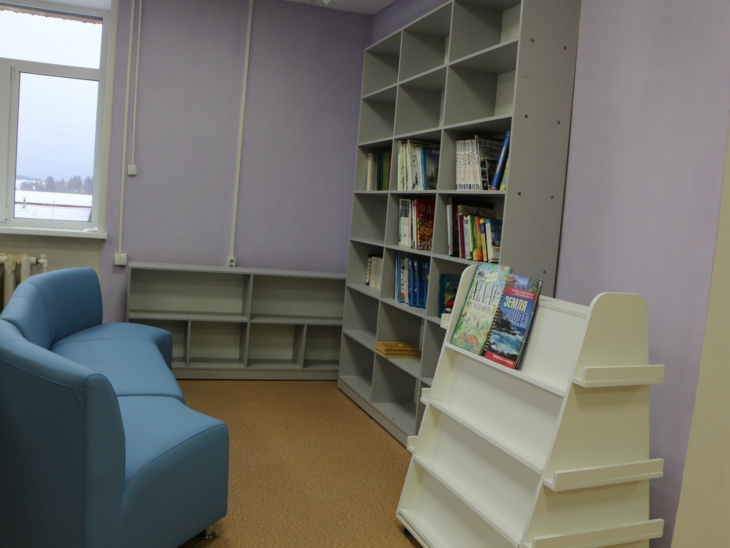 Модельная библиотека в селе Кослан скоро откроет свои двери