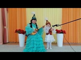 """БДОУ г. Омска """"Детский сад № 112"""", здание 2.Детская казахская песня """"Карлыгаш"""","""