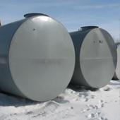 Резервуар горизонтальный двустенный РГД 10 м3