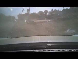 В смертельном ДТП погибла целая семя. Видео аварии с регистратора.