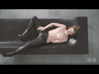 Patritcy A - Leather Obsession [Solo, Mastrubations, Erotic] [1080p]