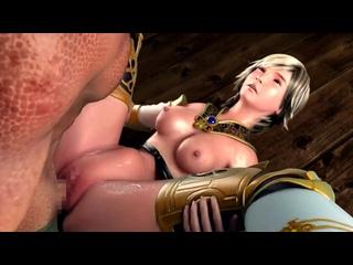 Dalmascan Night (Extended cut, Atelier KOB) - [CENSORED / цензура] (3D porn / hentai / Rule34)