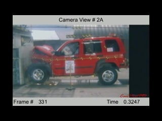 Jeep NHTSA Crash Test  (1978-2014)