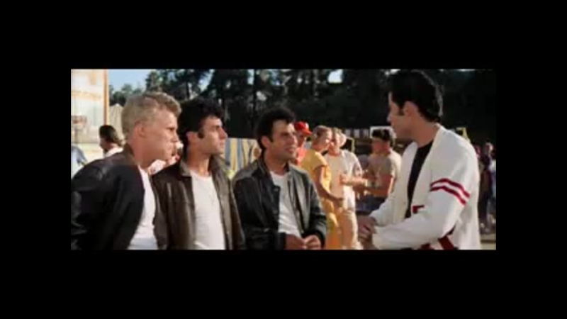 John Travolta Olivia Newton You are the One That I Want Бриолин Grease 1978 г