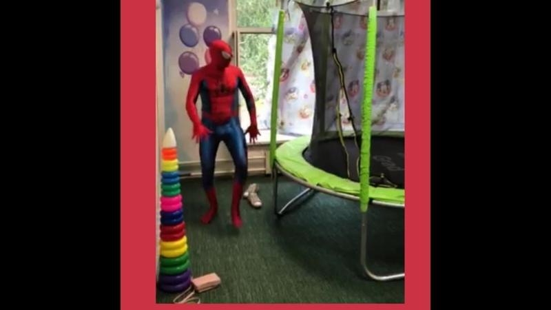 Настоящий Человек паук в Челябинске Аниматоры Аладдин