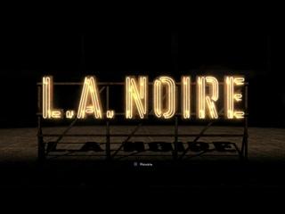 5 (PS4) Нуар,от Рокстар. Атмосфера 50х,суровые детективы и роковые женщины - L.A. Noire