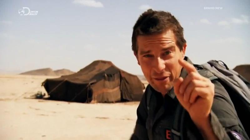 Беар Гриллс По Стопам Выживших HD 720p Escape From Hell 1x03 Пустыня 1