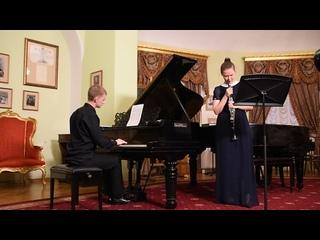 Танеев. Канцона для кларнета и фортепиано. Исп. Р.Касимова