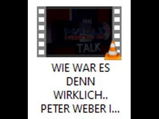 WIE WAR ES DENN WIRKLICH.. PETER WEBER IM GESPRÄCH MIT JOANA COTAR - VON HALLO MEINUNG