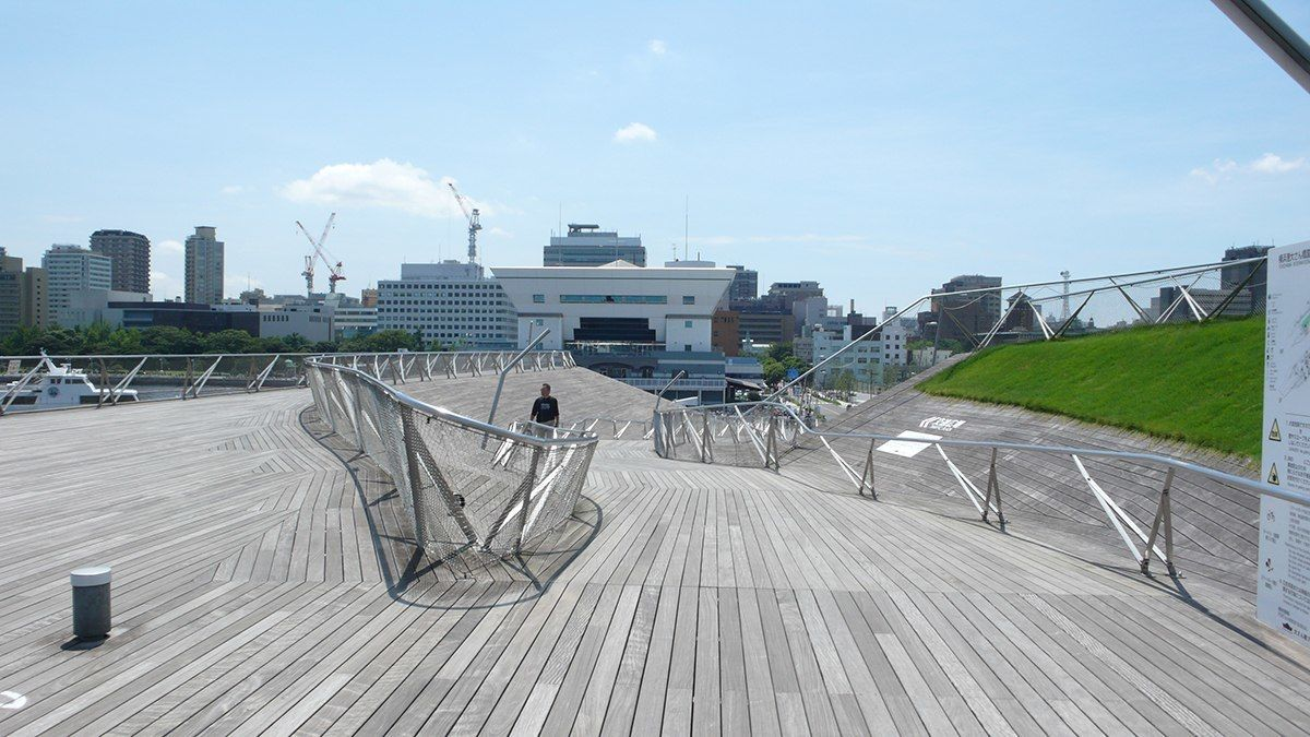 Yokohama International Passenger Terminal: