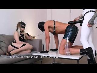 Miss Melisande Sin - Big Black Cock for Latex Gimp femdom mistress