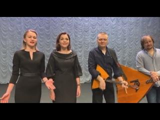Поют Анна Гурина и Юлия Бутяга (фрагмент)