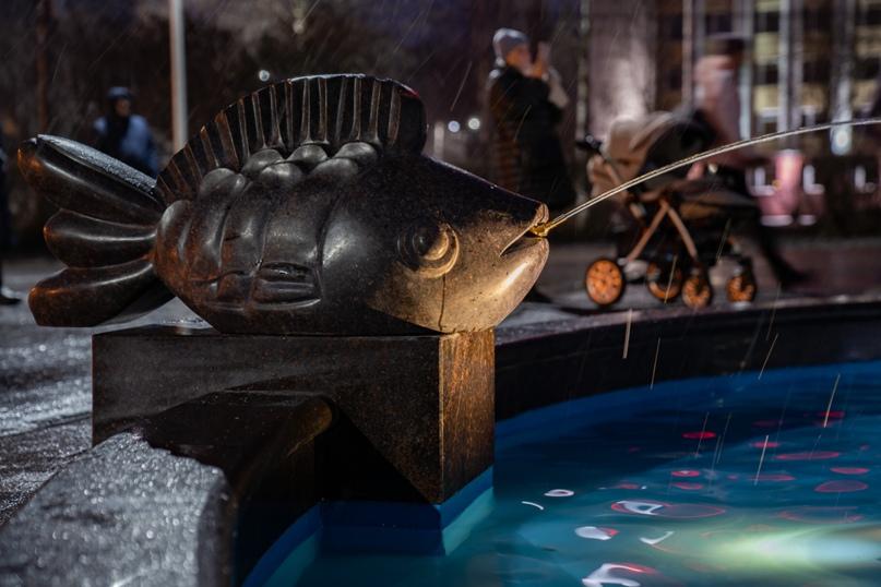 Солёные брызги ухтинского фонтана, изображение №4