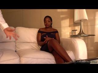 Ebony Fetish African Casting.