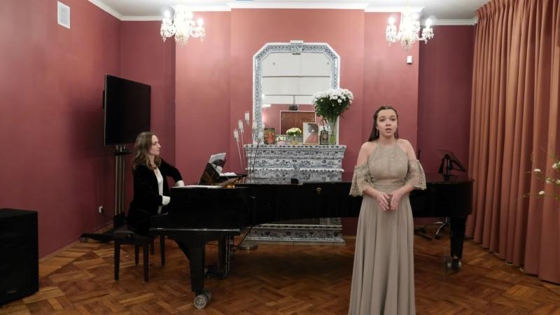 Концерт вокальной музыки Класс Марии Николаевны Араповой