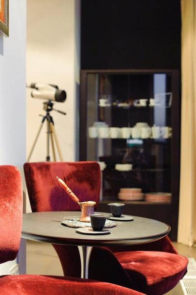 Квартира в стиле фьюжн  Метраж: 80 квадратных метров Комнаты: 2 Дизайн:...