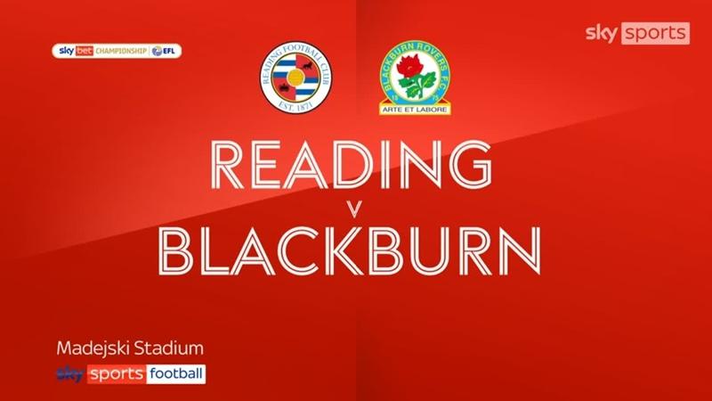 «Рединг» - «Блэкберн Роверс» 10 (Sky Sports)