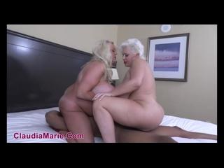 Claudia Marie, Kayla Kleevage - Big Tit Hotel Whores () [HD 720, Big Fake Tits, Black, Blowjob, Interracial, MILF]