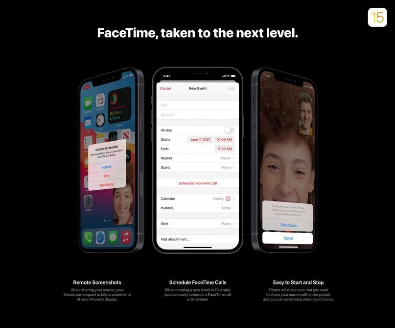 50 нововведений iOS 15 показали в новом концепте, изображение №4
