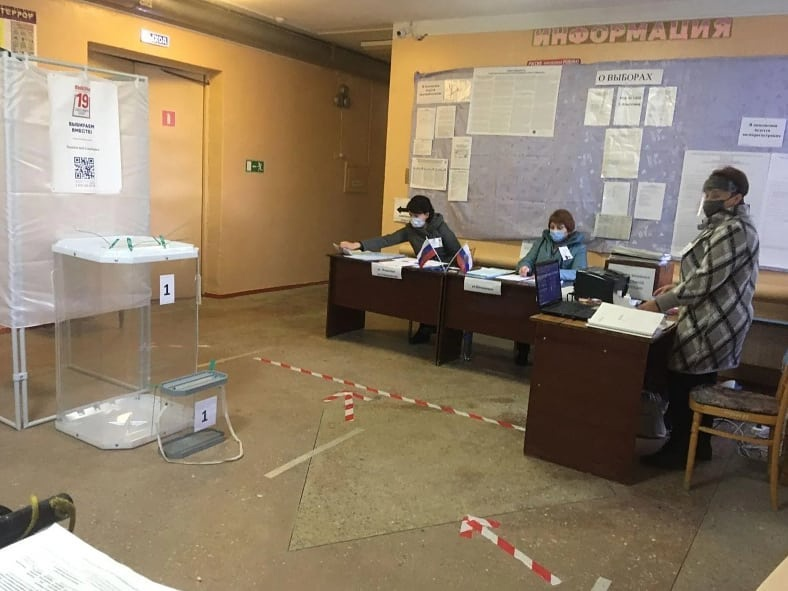 В восемь часов утра в Петровске и Петровском районе открылись избирательные участки