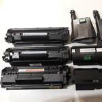 Картриджи для лазерных черно-белых принтеров и мфу