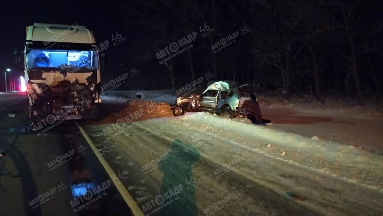 В смертельной аварии с «Нивой» под Курском оказался виноват водитель автопоезда