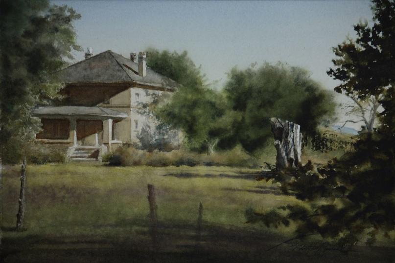Американский художник-акварелист. Robert McFarland, изображение №7