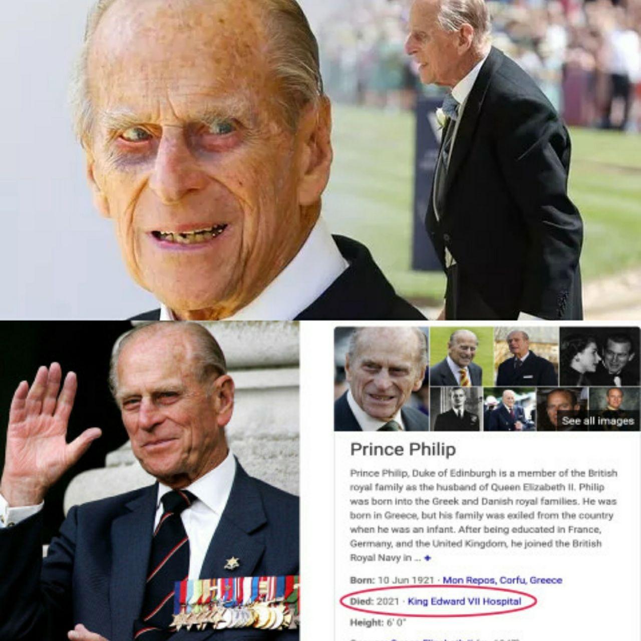 """«Герцог Эдинбургский» или «принц Филипп». Очередное загадочное """"воскрешение""""! Jpd0KGIR0ew"""