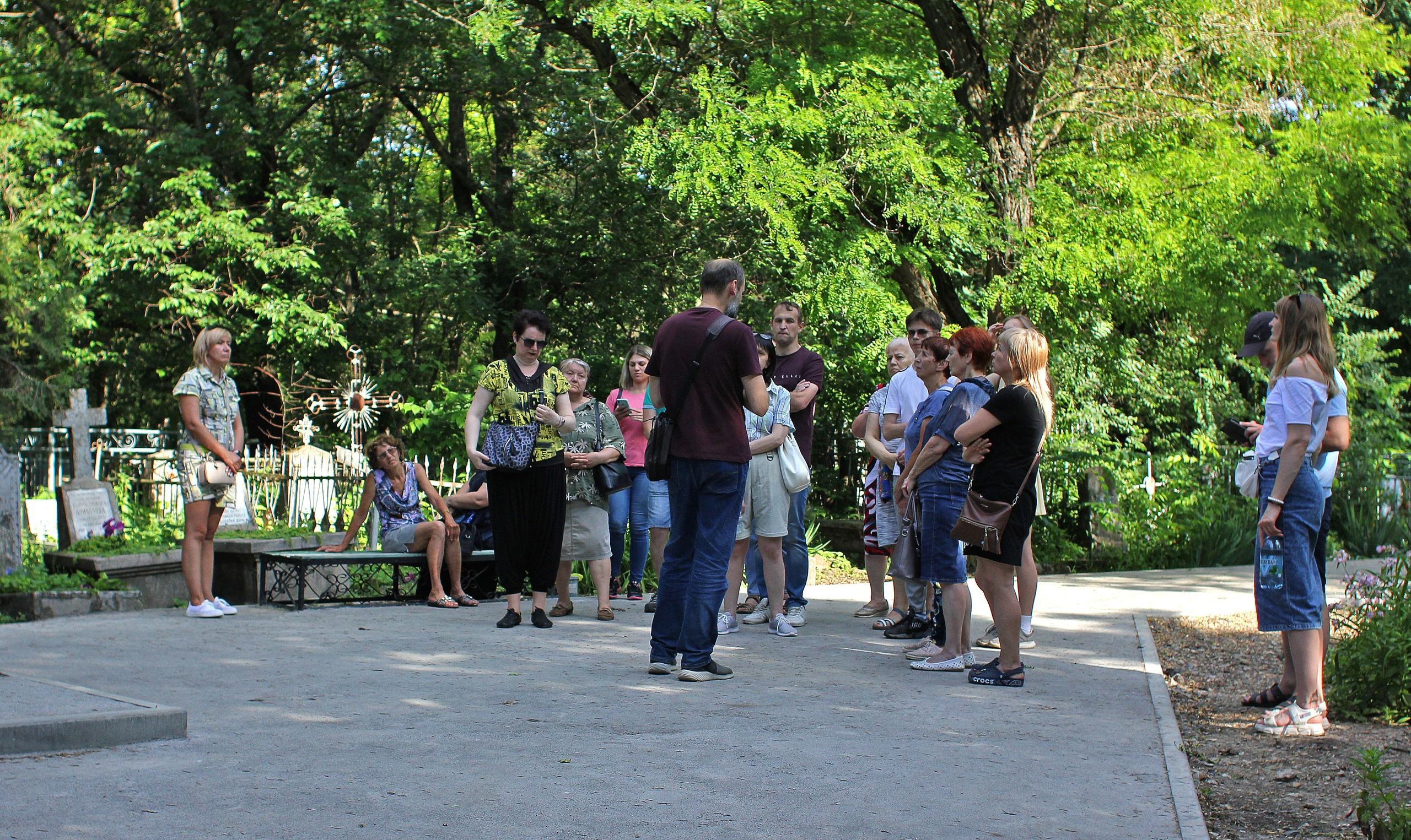 Экскурсия по старому кладбищу Таганрога Юрченко А.