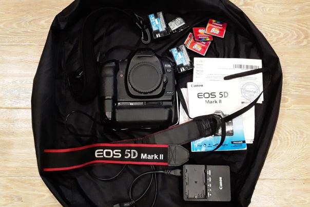 Canon EOS 5D Mark II + Canon BG-E6 + КАТА Bug-205 ...