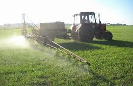 Обработка посевов