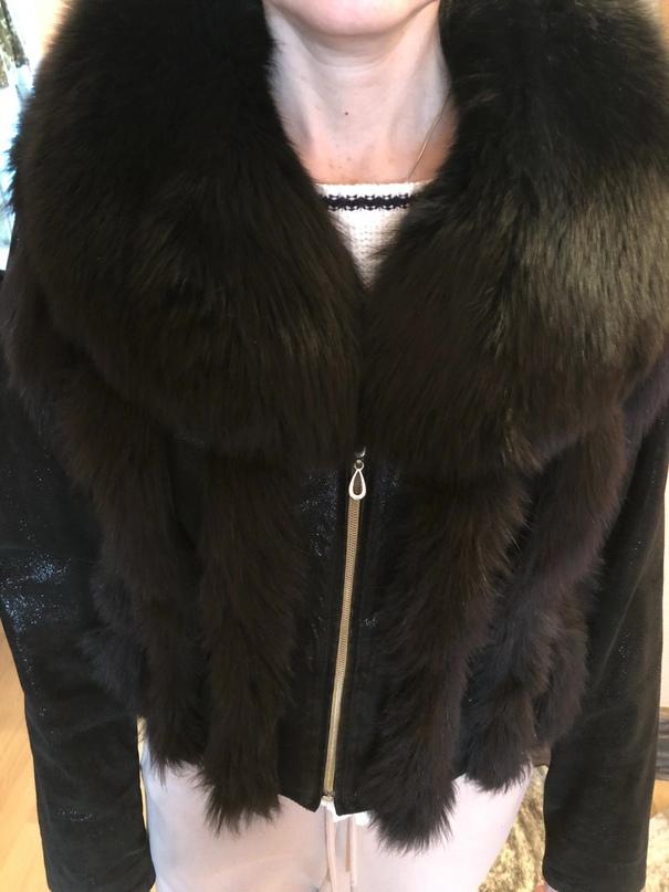 Куртка женская. Натуральная кожа и мех.   Объявления Орска и Новотроицка №18003