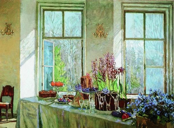 Один из лучших русских импрессионистов занялся творчеством вопреки воли отца  бывшего аристократа