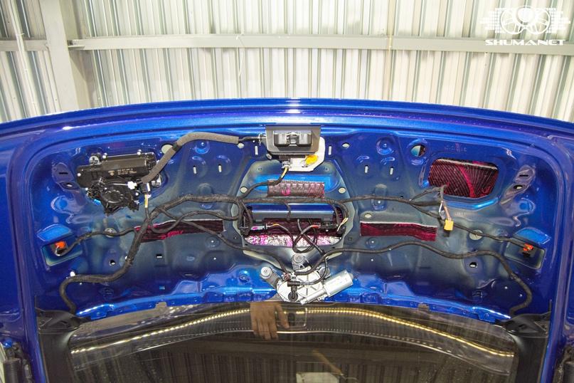 Комплексная шумоизоляция Audi Q5, изображение №31