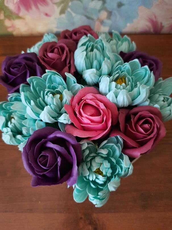 Купить букет из мыльных цветов в | Объявления Орска и Новотроицка №23934