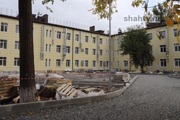 В Шахтах закончат ремонт детской городской больниц...